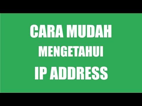 Cara Mengetahui IP Address Komputer atau Laptop