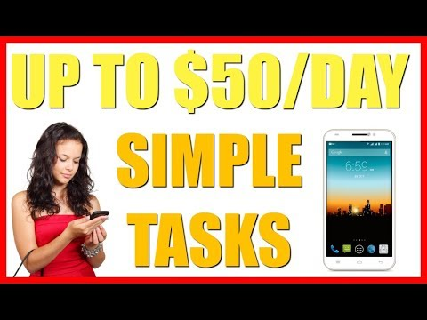 How To Make Money Online Doing Simple Tasks | UP TO $50/Day!