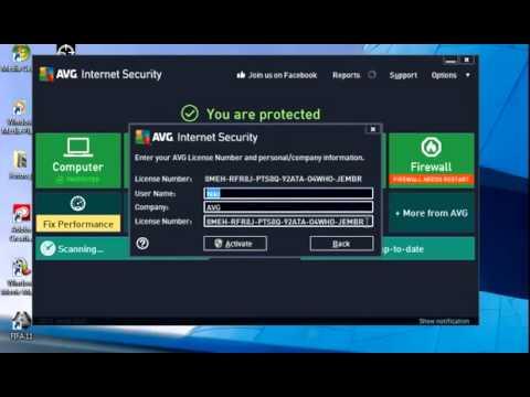 avg internet security 2018 license key facebook
