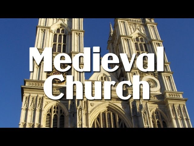 the church in the middle ages People & ideas: the roman catholic church in medieval europe  with notable exceptions, the church reinforced the political authority of the states,.