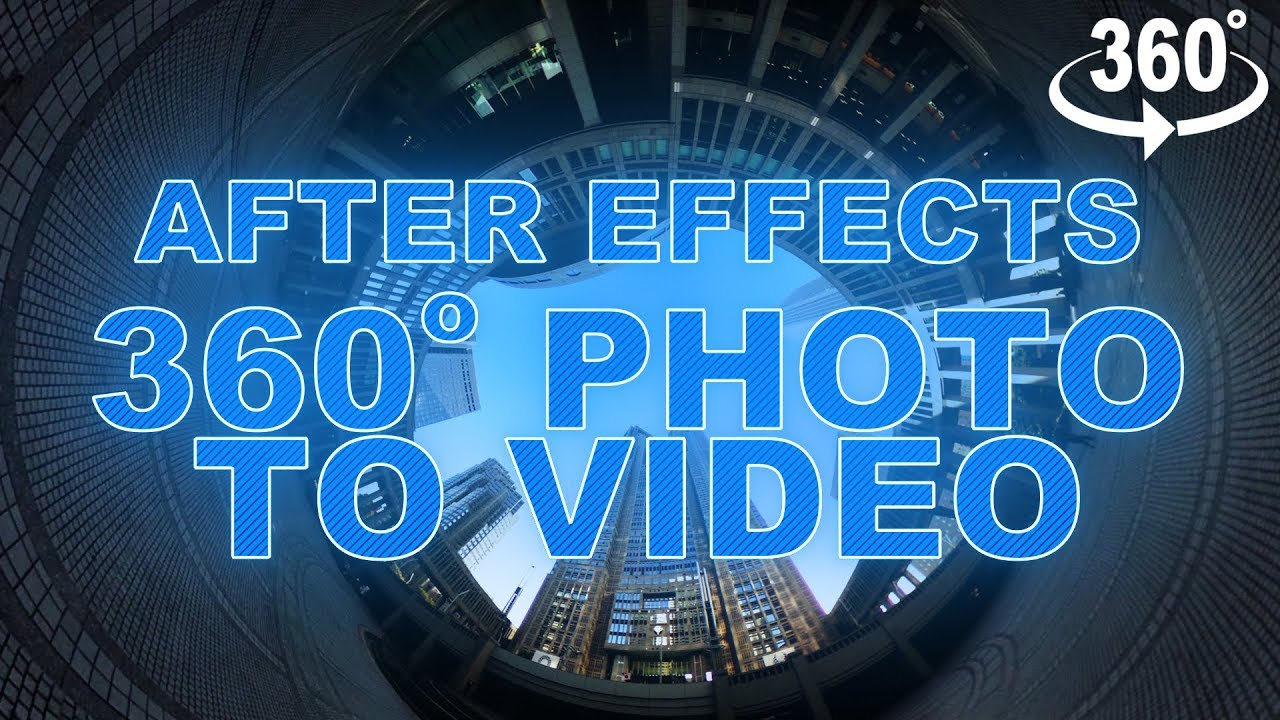 How to Edit 360 Video for VR in Premiere Pro and After Effects