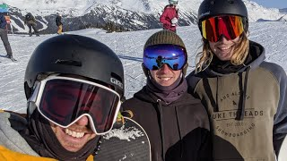 Live Snowboard Q&A From Whistler, BC, Canada