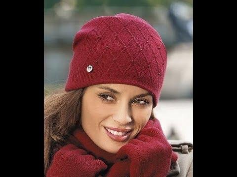 связать шапку спицами новые оригинальные модели 2019 Knit A