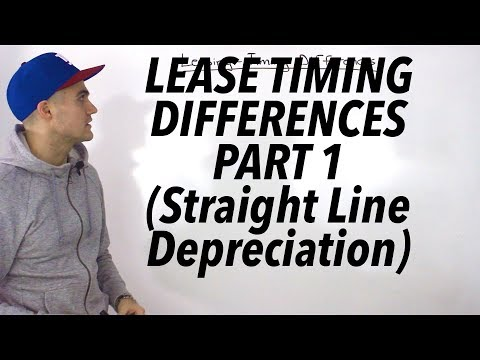 FIN 401 - Lease Timing Differences Part 1 - Ryerson University