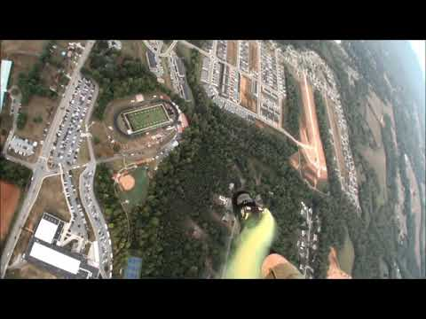Parachute Demo for Jefferson Forest High School on 9/27/19
