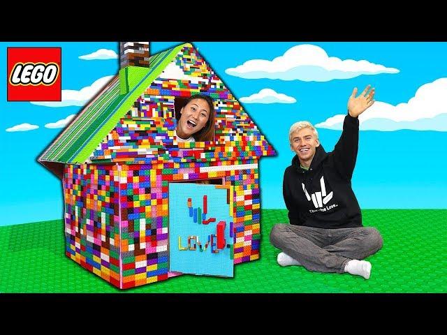 LEGO BOX FORT!!