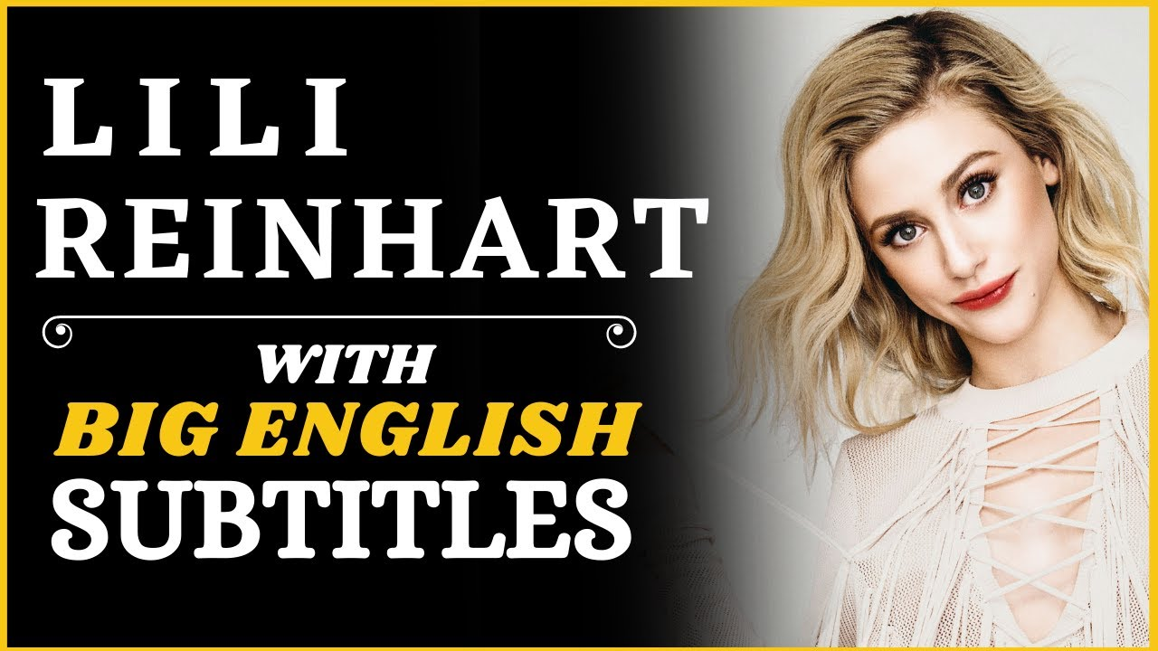 Download LEARN ENGLISH |Lili Reinhart's Revealing Speech About Body Image| English Speech with Big Subtitles