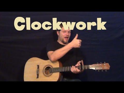 Clockwork (Easton Corbin) Easy Guitar Lesson How to Play Tutorial