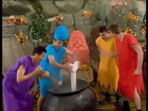 The Caveman Wiggles The Egg