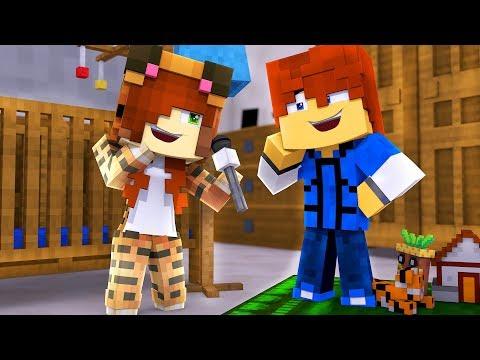 Minecraft Daycare - TINA CAN TALK !? (Minecraft Roleplay)