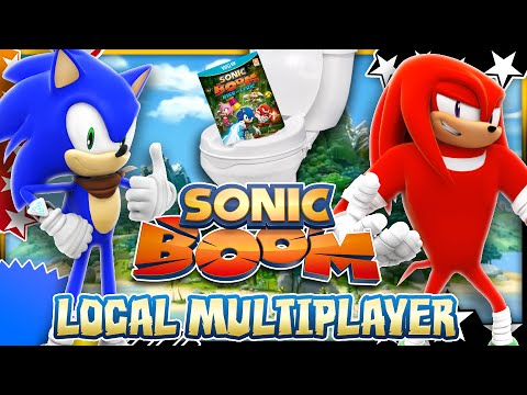 Sonic Boom Rise of Lyric Wii U - Local Multiplayer (& Flushing the Game)