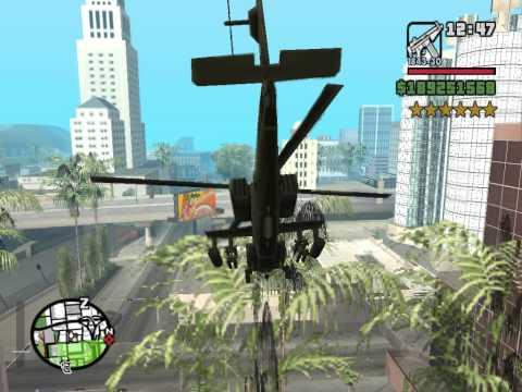 GTA San Andreas Big 6 Star Rampage Part 3