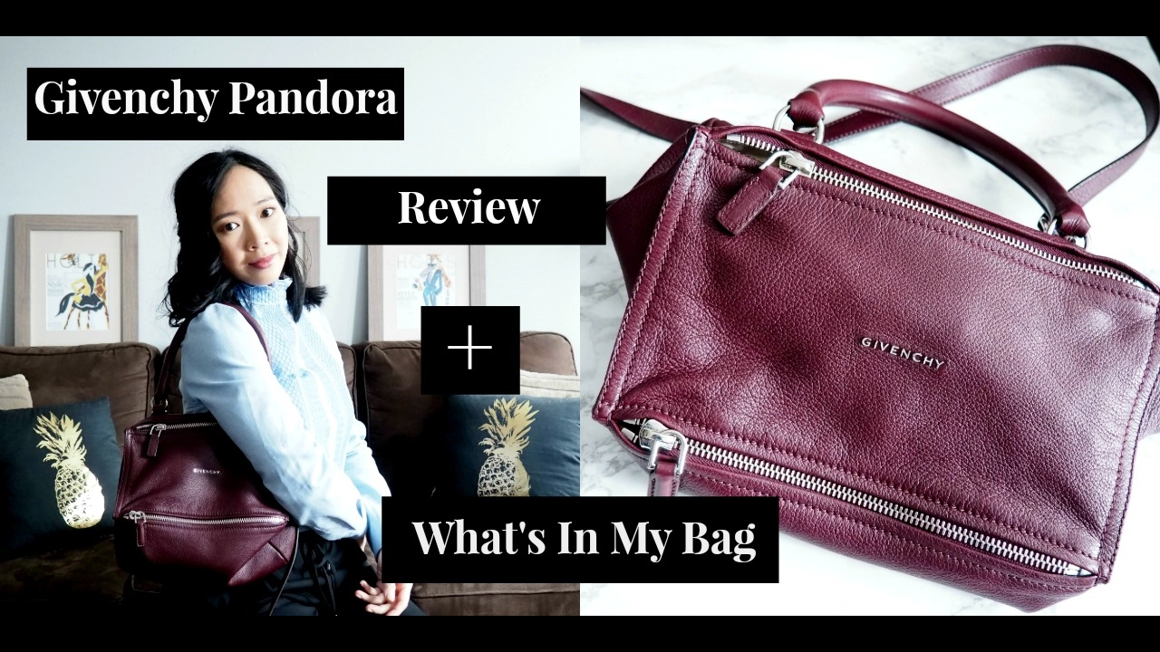 Givenchy Pandora Review (Small) + What's in my Bag