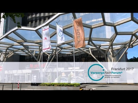 2017: VorsorgeFachForum in Frankfurt