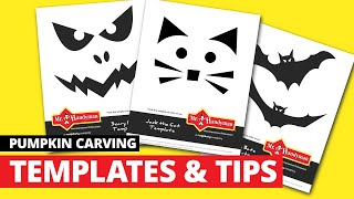 Free Pumpkin Carving Templates And Ideas For Power Tools