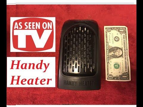 Can It Heat My RV? Handy Heater, As Seen On TV!