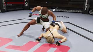 Jade destroying Ronda Rousey (UFC 2: Ryona Edition)