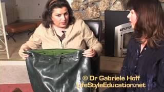 Repeat youtube video Erotic Powerplay®: Sara Kira on outdoor latex and breath play
