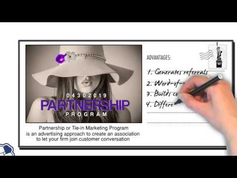 Partnership Or Tie-in Program | Promotional Marketing Tool #9 | Marketing & Sales
