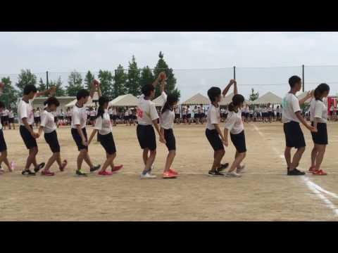 2016 五日市高校 第43回体育祭 フォークダンス ①