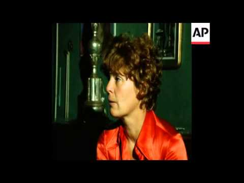 SYND 18-7-73 ABIGAIL HARRIS TALKS ABOUT THE KIDNAP OF HER SON