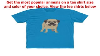 Dogs-Cats-Horses on a tee shirt for you