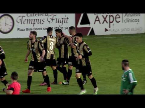 Segunda B 2016-17. Resumen Barakaldo CF 2 - Arenas Club 1