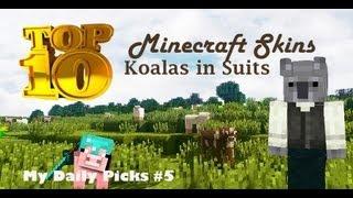 Minecraft Skins Top 10 Koala in Suit Minecraft Skins Animals in Suits Minecraft Skins