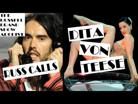 Dita Von Teese   The Russell Brand