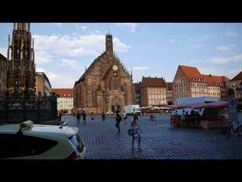 D: Nuremberg (Nürnberg). Bavaria. Germany. Exploring the Cit