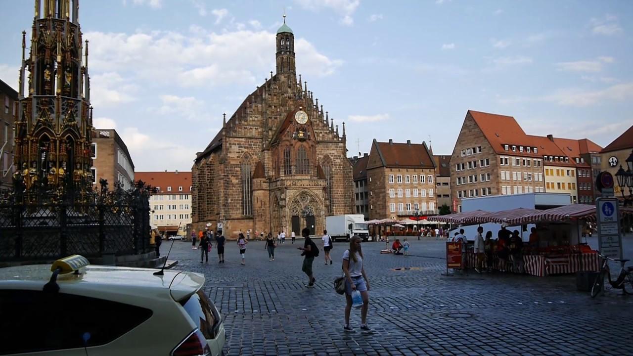 D Nuremberg Nrnberg Bavaria Germany Exploring the City Center