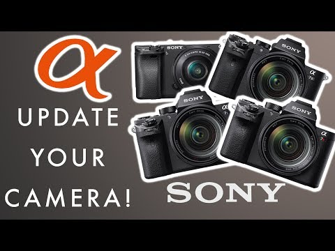 Sony Alpha Firmware Update! How to update/install on a7II, a7RII, a7SII, a6300, a6500, a9
