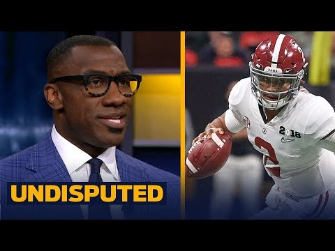 Skip and Shannon talk Jalen Hurts and the Alabama Crimson Tide QB spot in 2018 | CFB | UNDISPUTED