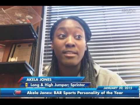 Barbados Sports Personality 2014 Akela Jones | Jan 20, 2015 | SportsMax Zone