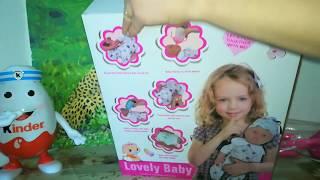 Распаковка куклы.Обзор игрушек для девочек