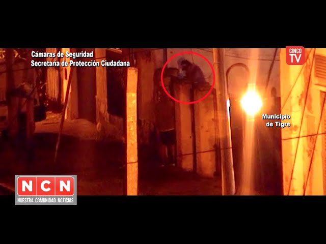 CINCO TV - Cayeron tres ladrones que pretendieron robar en una vivienda en Don Torcuato