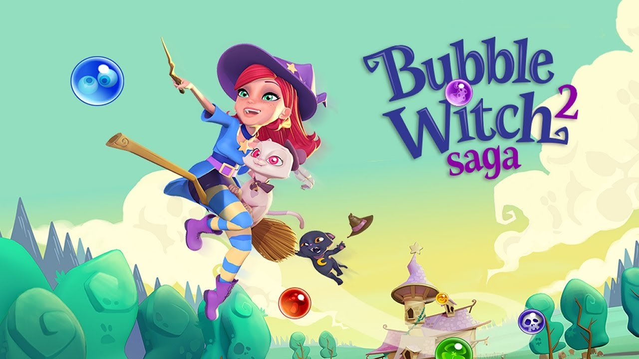 Image result for Bubble Witch 2 Saga