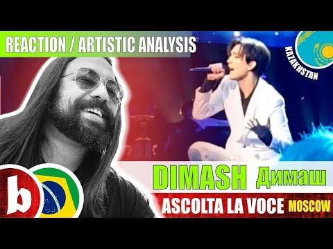 DIMASH Димаш! Ascolta La Voce - Reaction Reação & Artistic Analysis (SUBS)