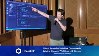 Chainlink Web3 Summit OracleNode: Building Ethereum Workflows with Streamr