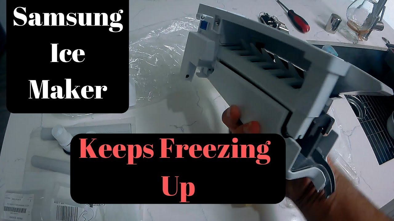 Forced Manual Defrost Mode On A Samsung Refrigerator Top