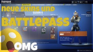 SEASON 6 *NEW* BATTLEPASS NEW SKINS *OMG* | Fortnite Battle Royal