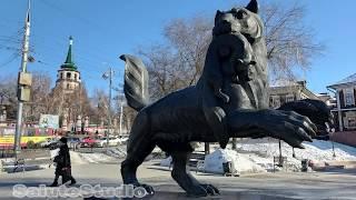 Этот зверь символ Иркутска Кто он Иркутская слобода или 130 квартал