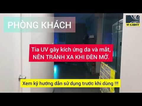 Đèn Bàn Diệt Khuẩn Tia Cực Tím UV - Mẹo Xài đèn UV
