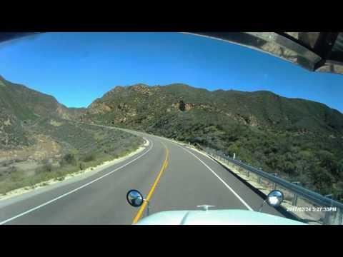 Trip down CA-166