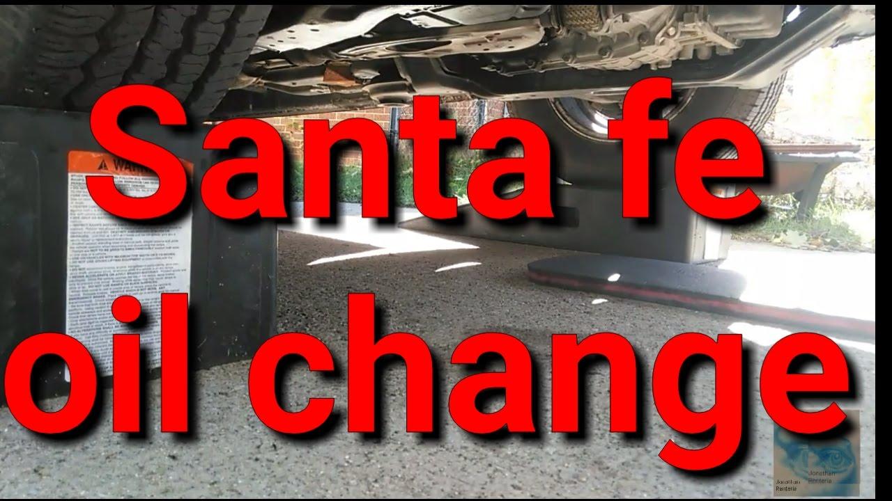 Santa Fe Engine Oil Type