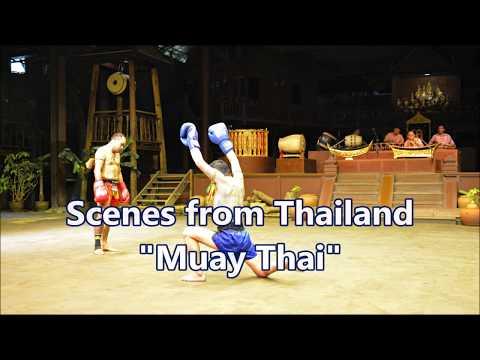 MUAY THAI - Scenes From Thailand - Riverside Thai Village   [HD]