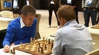 Michael Adams vs V. Laznicka - Armageddon Chess Blitz