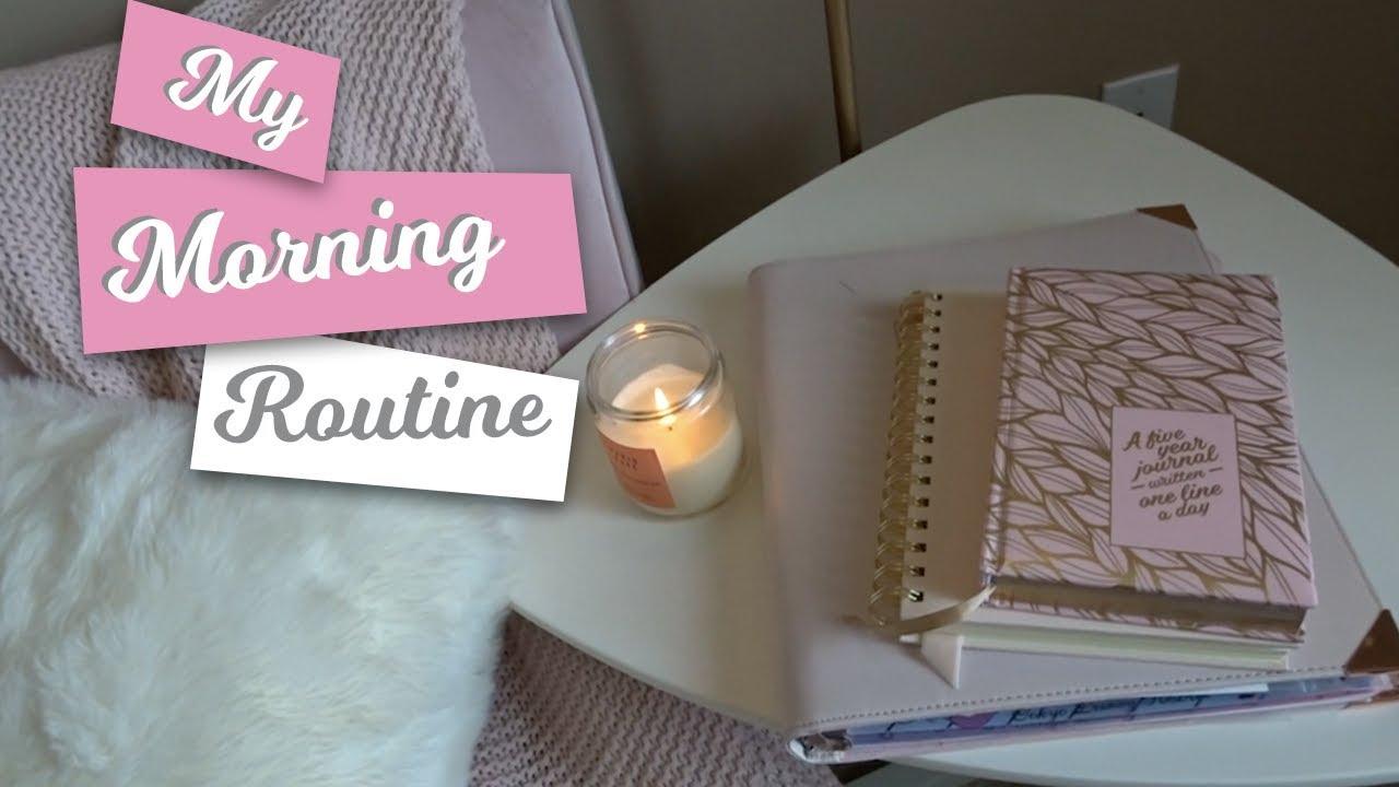 Morning Routine Art Journal