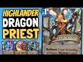 DRAGON PRIEST IS BACK!? With a Cleric Combo & Murozond Twist! | Galakrond's Awakening | Hearthstone