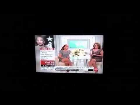 Jennifer Lopez and Jackie Sanchez live on HSN!!!